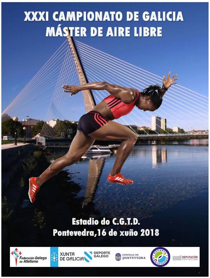 XXXI Campionato de Galicia Máster en Pista ao Aire Libre