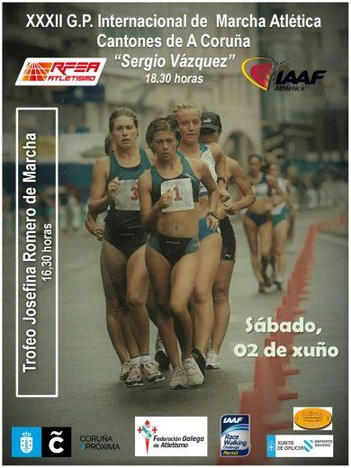 XXXII Gran Premio Internacional de Marcha Cantones de A Coruña – Trofeo Sergio Vázquez