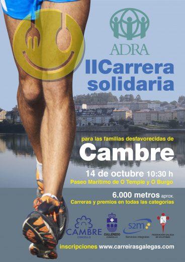 II Carreira Solidaria para as Familias Desfavorecidas de Cambre – Fundación ADRA