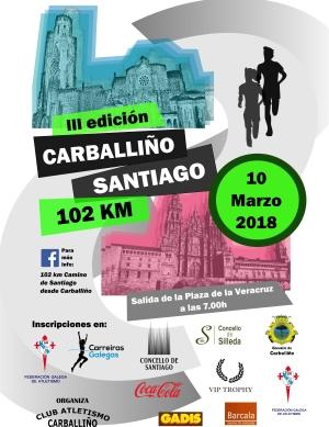 III 102 Km. O Carballiño – Santiago de Compostela