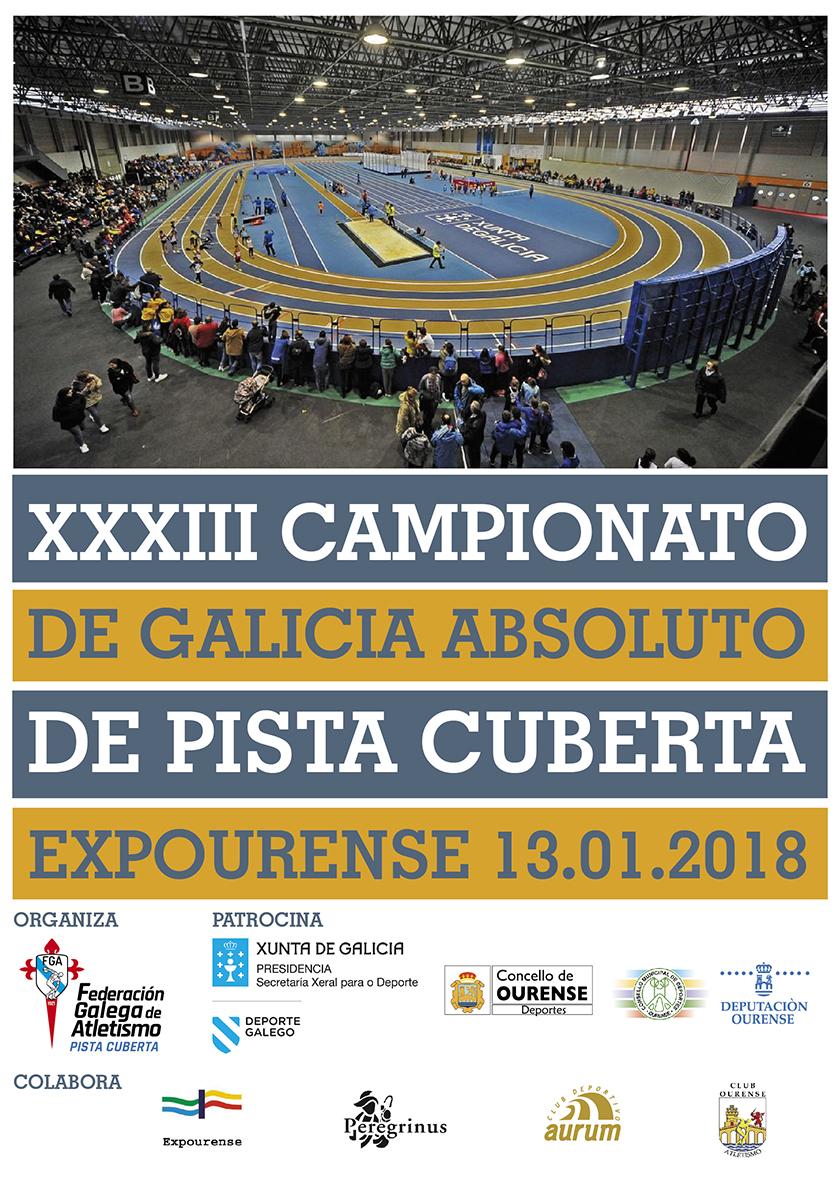 XXXIII Campionato de Galicia Absoluto de Pista Cuberta