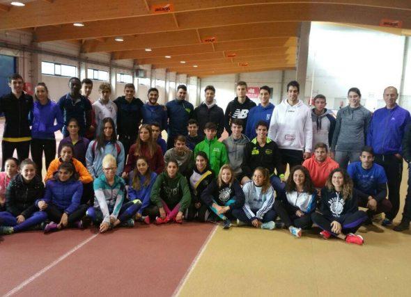 Os velocistas galegos concéntranse