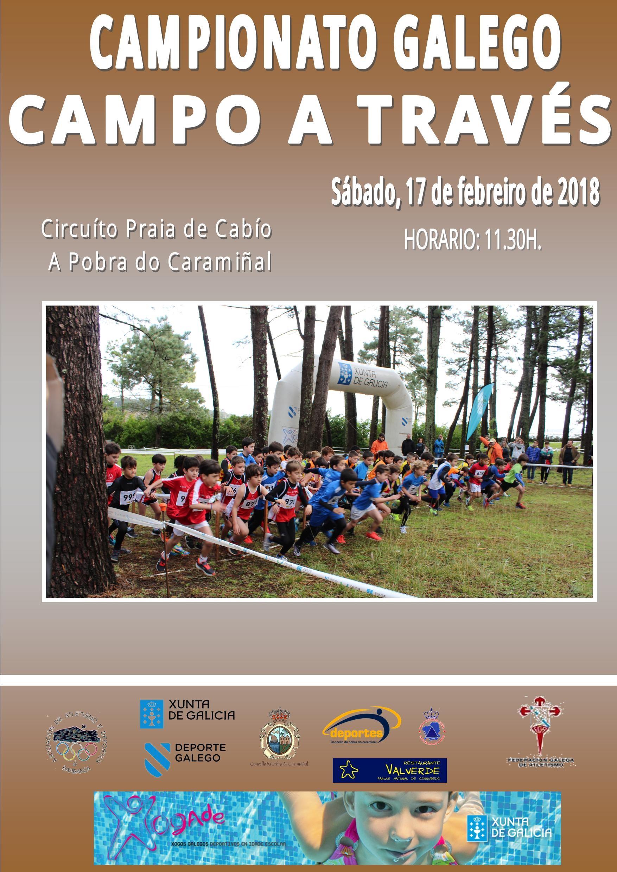 Xogade – Campo a Través – Campionato de Galicia 2017/2018