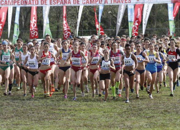20 clubs galegos acuden ó nacional de campo a través