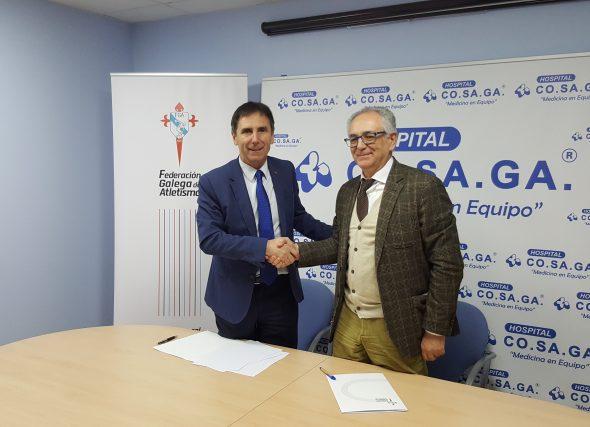 Asinado convenio co Hospital CO.SA.GA. de Ourense
