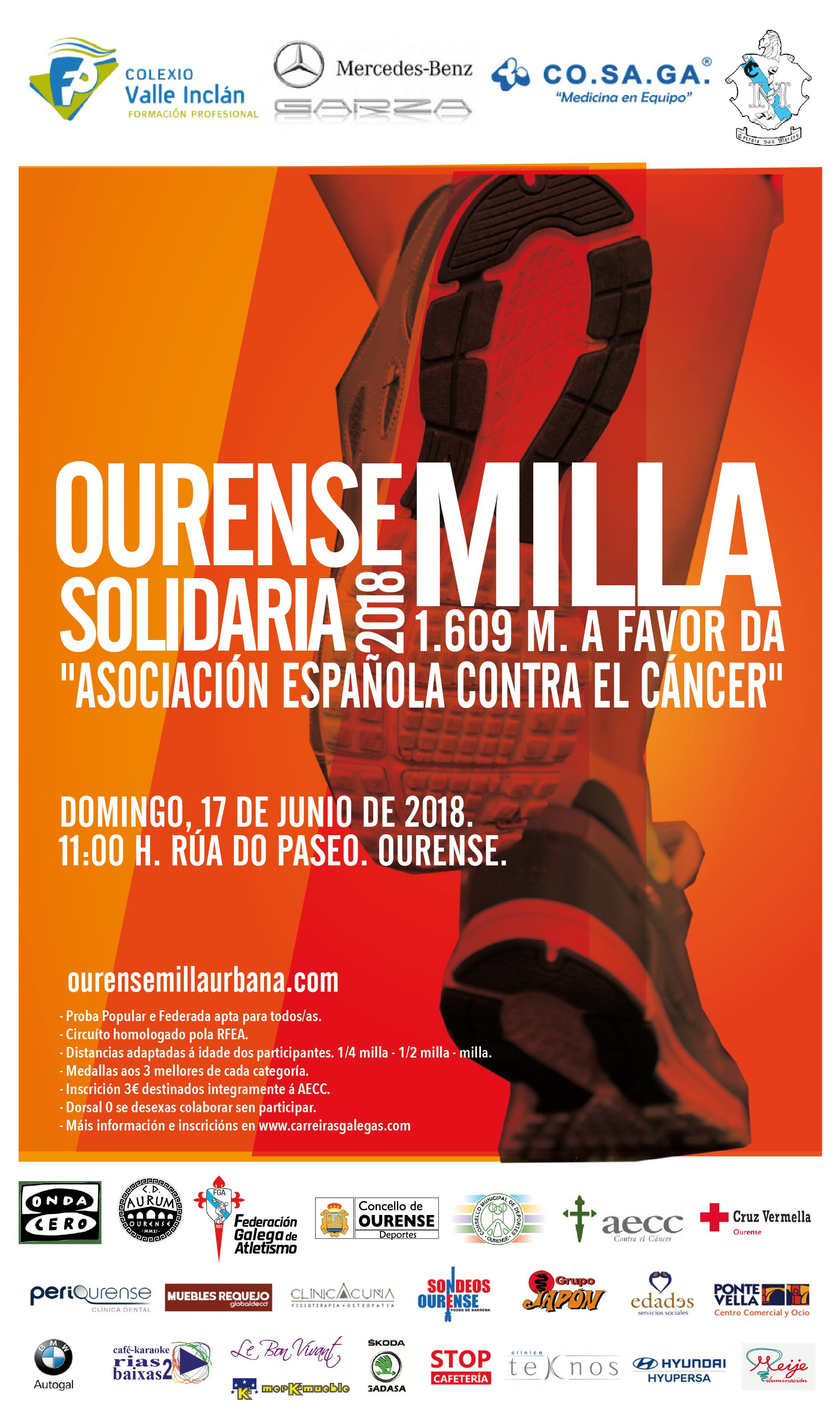 II Ourense Milla Solidaria