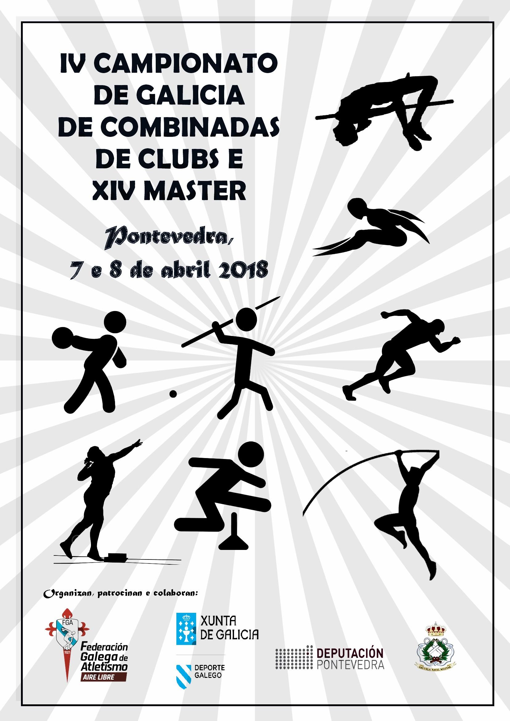 IV Campionato de Galicia de Clubs de Probas Combinadas – XIV Campionato de Galicia Máster de Probas Combinadas
