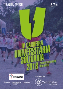 IV Carreira Universitaria Solidaria – Campus na Nube – Run4Med