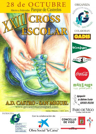 XXIII Cros Escolar A.D. Castro – San Miguel