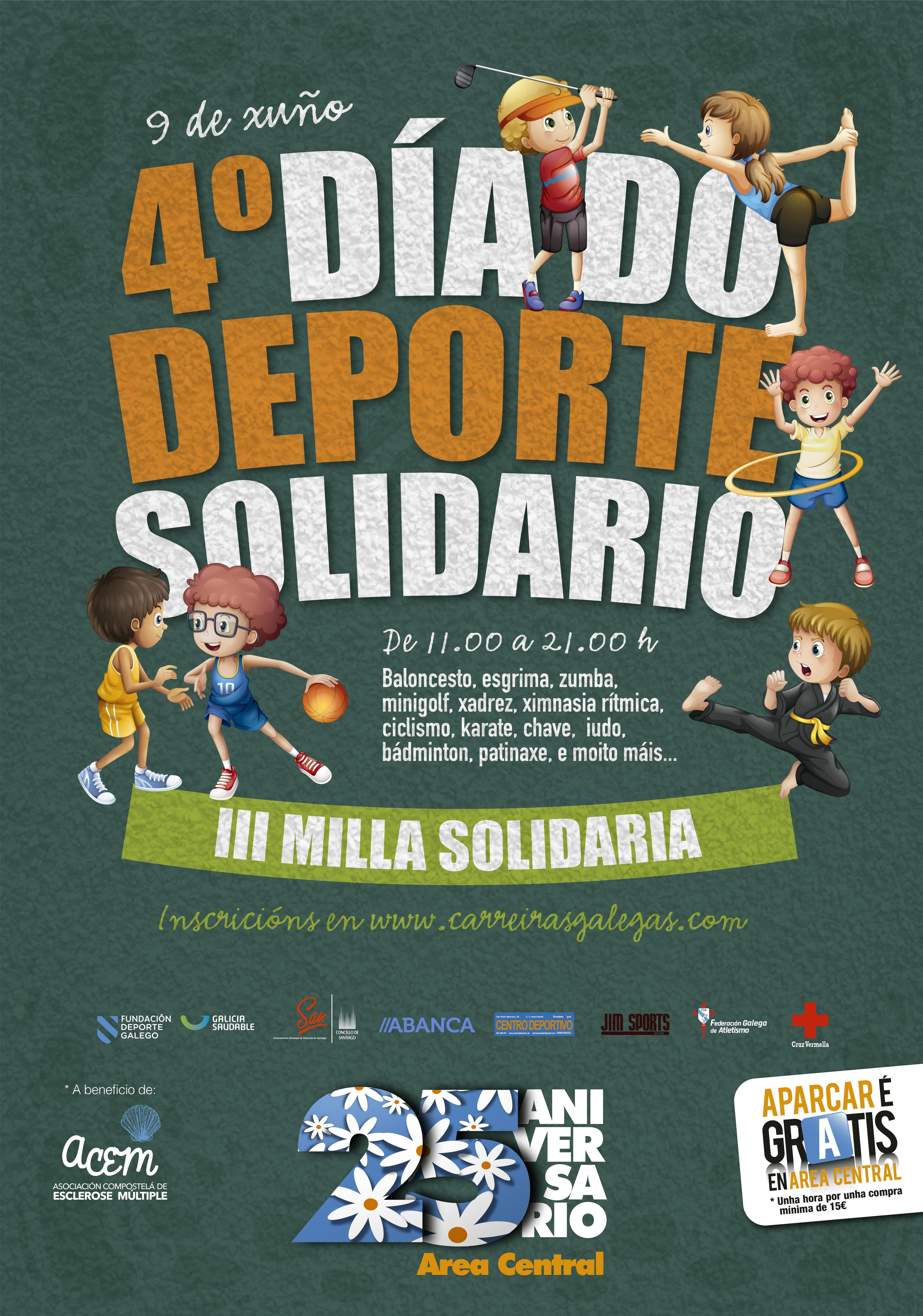 III Milla Día do Deporte Solidario