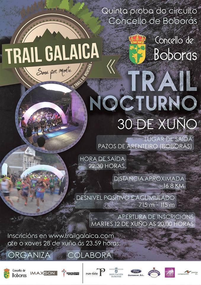Trail Galaica – Trail Nocturno Boborás 2018