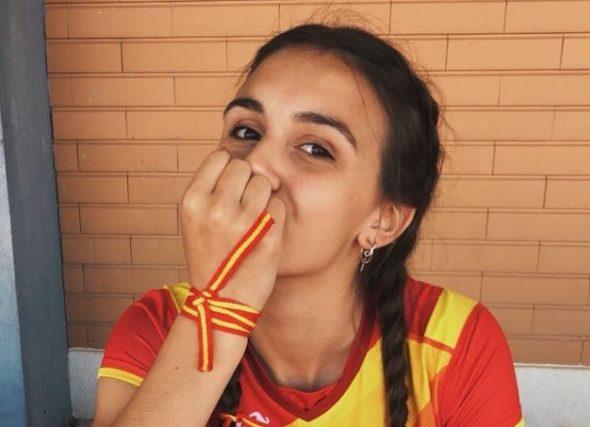 Iria Rivas súmase o debut de internacionalidades