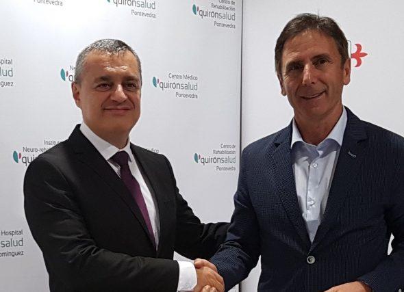 Asinado un convenio de colaboración co Centro Médico Quirónsalud Miguel Domínguez