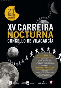 XV Carreira Nocturna Concello de Vilagarcía