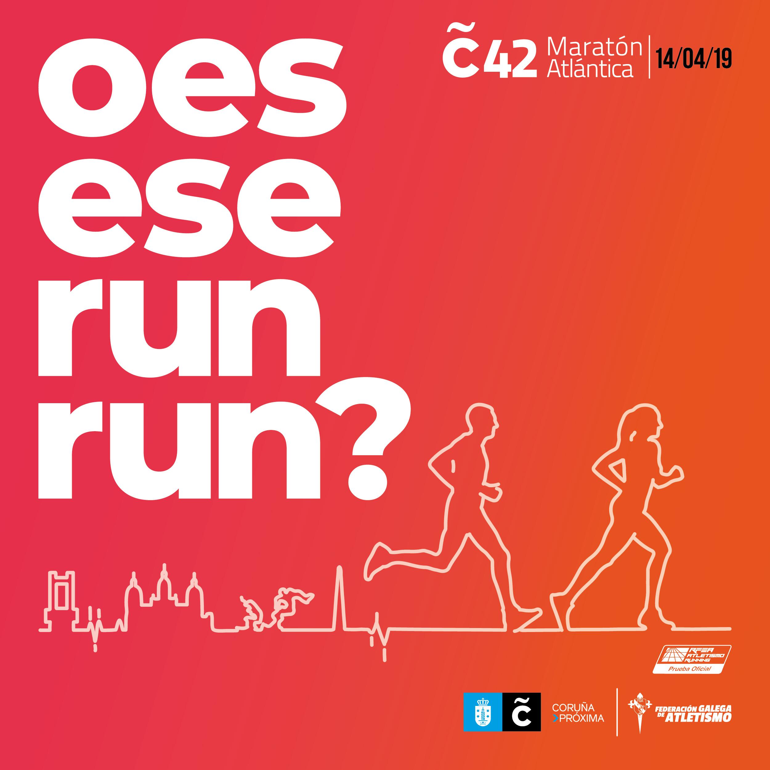 XII Campionato de Galicia de Maratón – VIII C42 Maratón Atlántica e 10Km