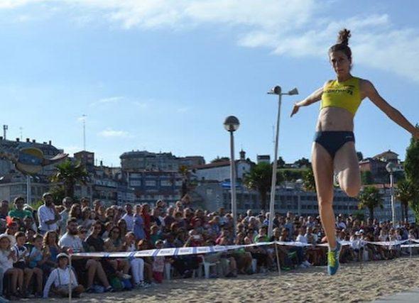 """Éxito de público de """"Saltar na praia"""""""
