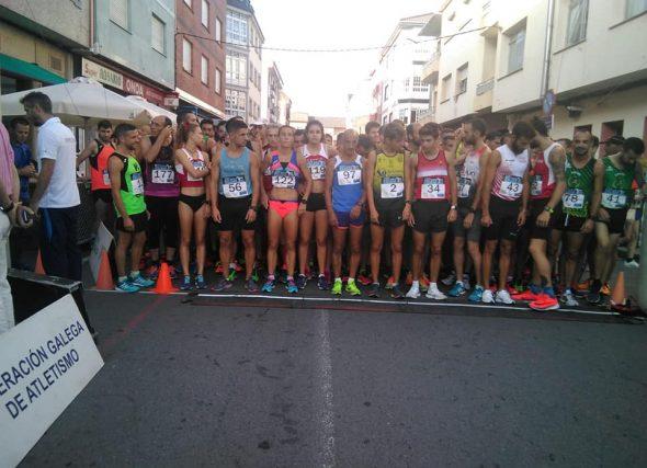 Paula Mayobre e Alejo Ares, dominadores do galego de 5 Km.