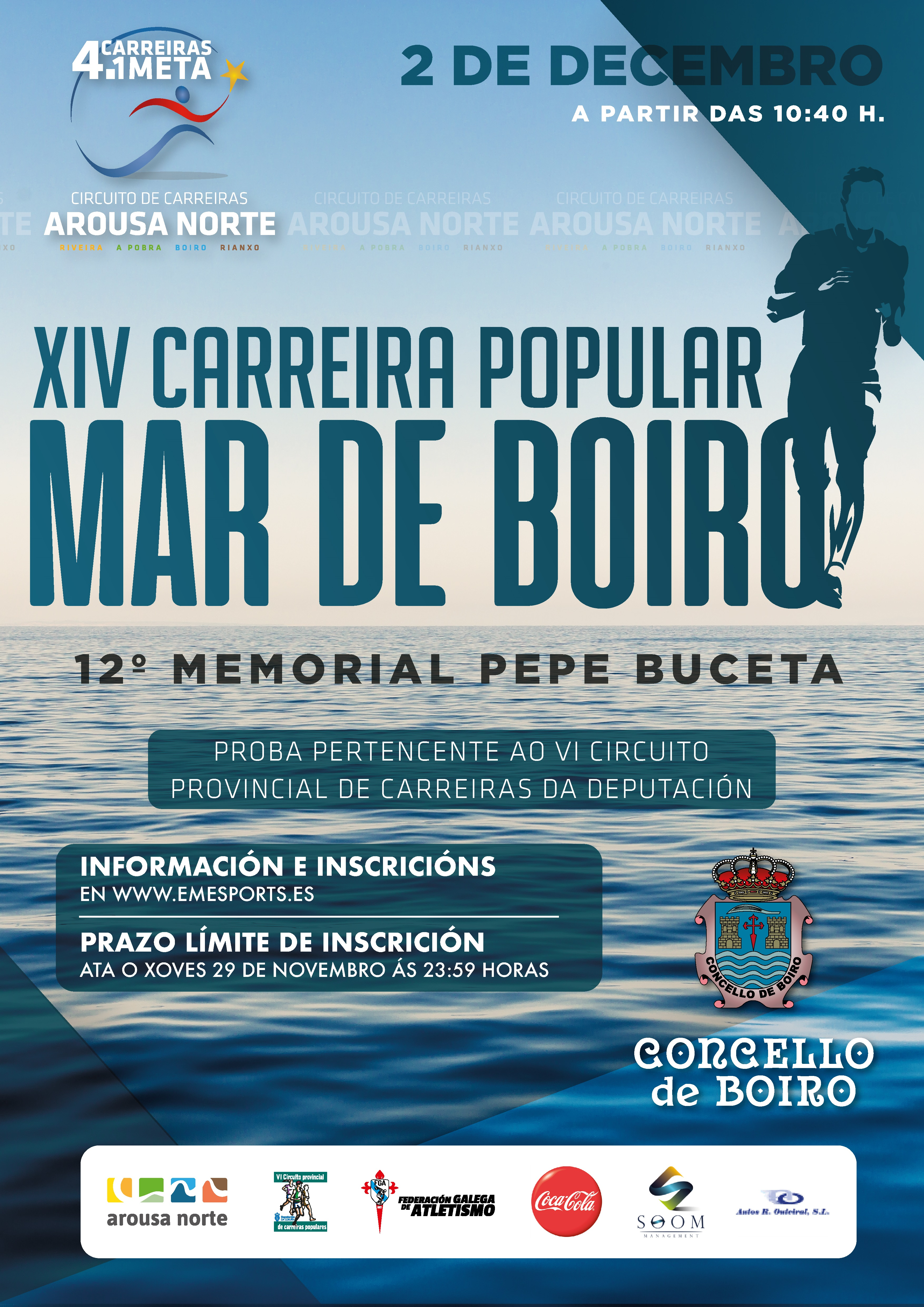 XIV Mar de Boiro – Memorial Pepe Buceta
