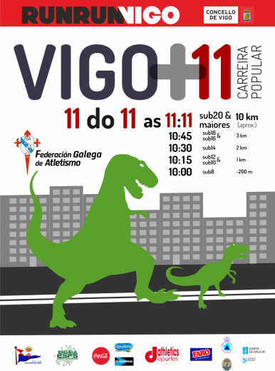 12ª Carreira Popular Vigo +11