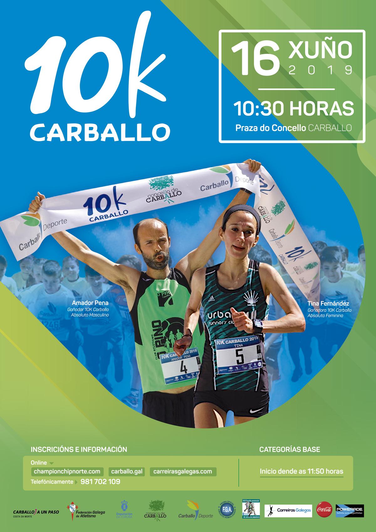 IX 10 Km. Carballo