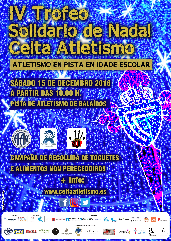 IV Torneo Solidario de Nadal Celta de Atletismo    – Cancelada