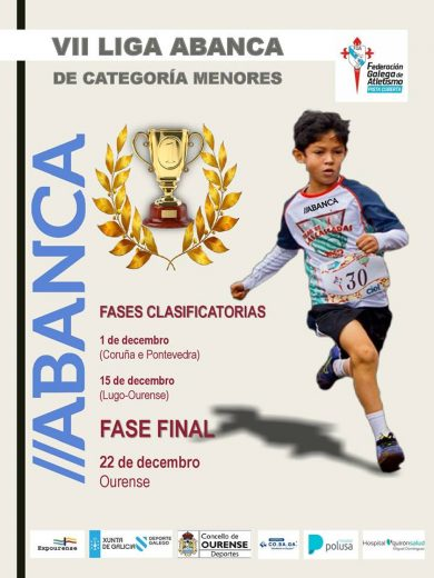 VII Liga Galega de Inverno de Categorías de Menores ABANCA – Fase Provincia Lugo – Ourense