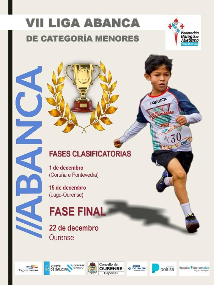 VII Liga Galega de Inverno de Categorías de Menores ABANCA – Fase Provincia Pontevedra