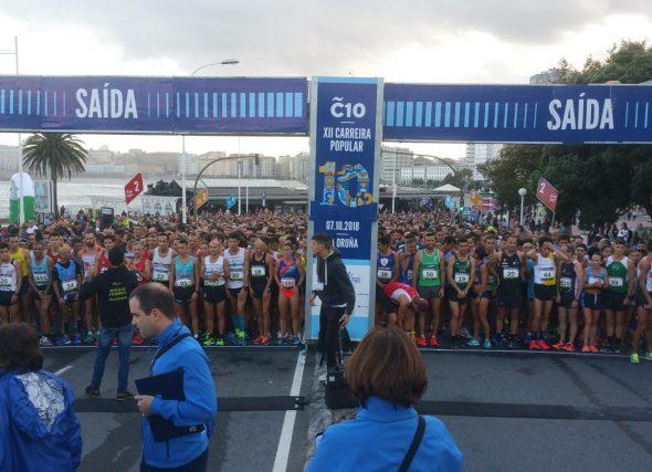 A Coruña 10 despega