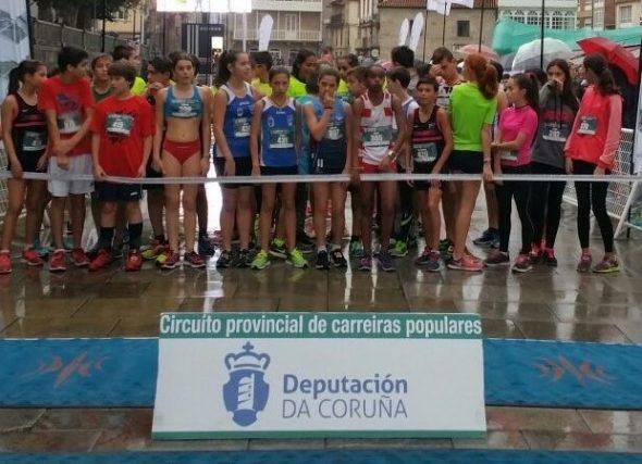 Premiacións do V Circuíto de Carreiras Populares Deputación da Coruña 2017
