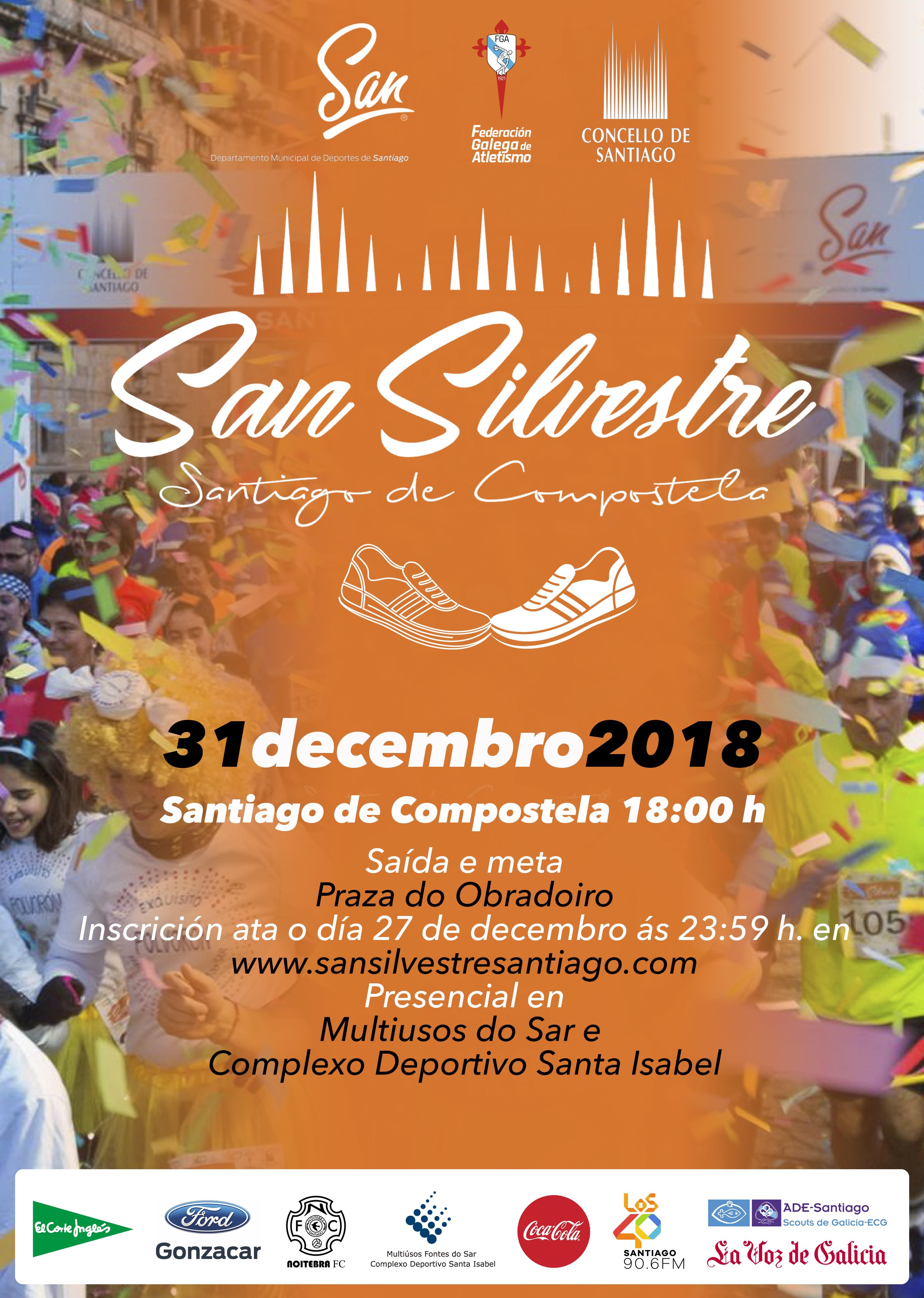 San Silvestre Compostelá 2018
