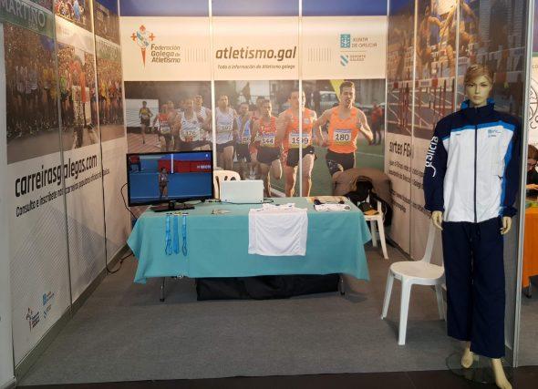 A Federación Galega de Atletismo presente en Sportur