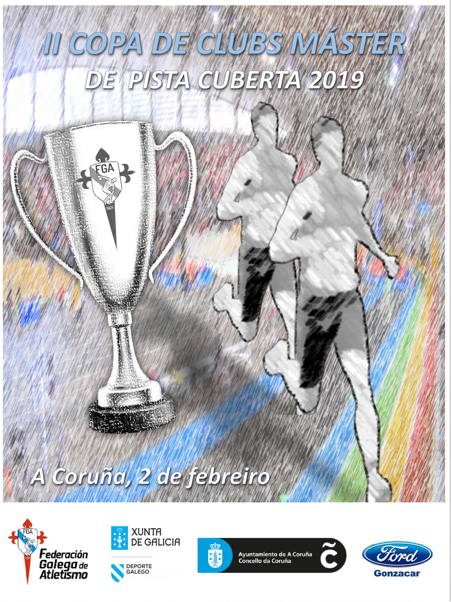 II Copa de Galicia de Clubs Máster en Pista Cuberta
