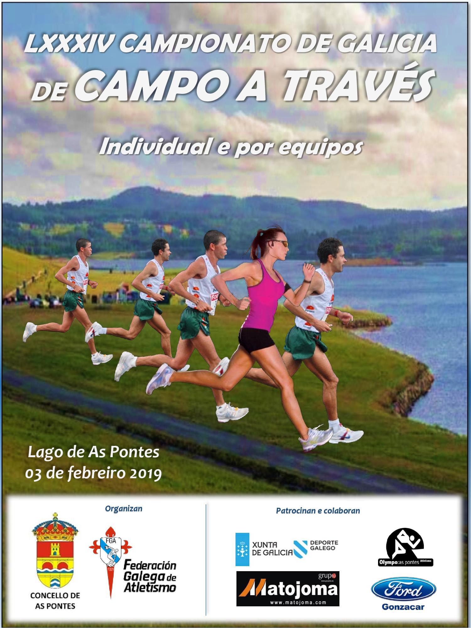 LXXXIV Campionato de Galicia Absoluto de Campo a Través Individual e Clubs