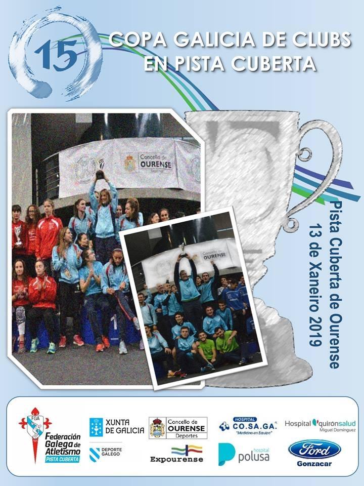 XV Copa de Galicia de Clubs en Pista Cuberta