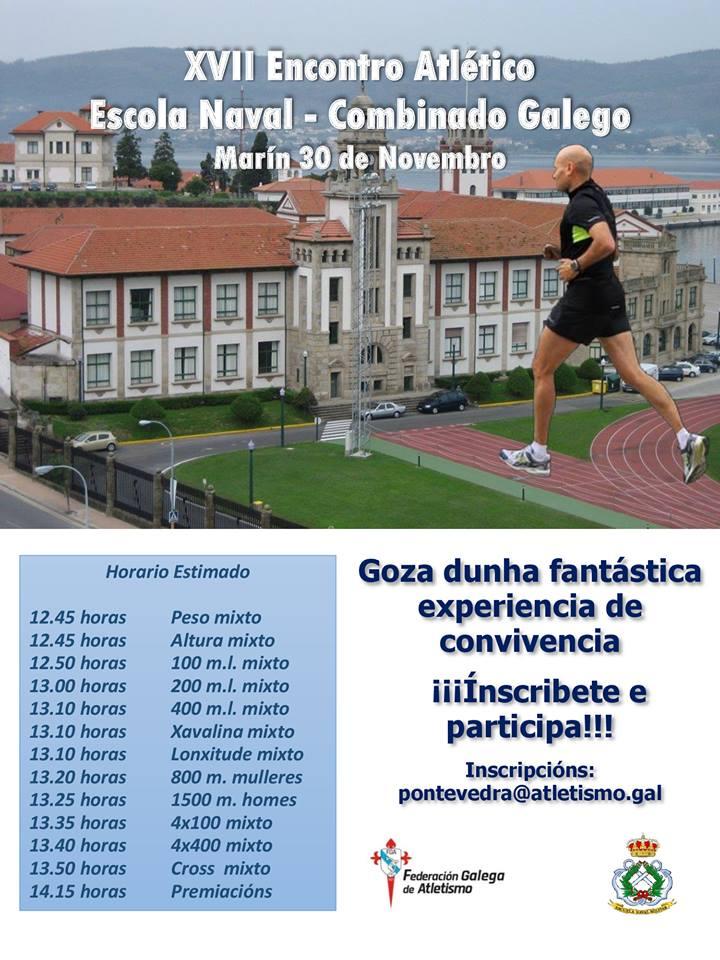XVII Encontro Atlético Escola Naval – Combinado Galego