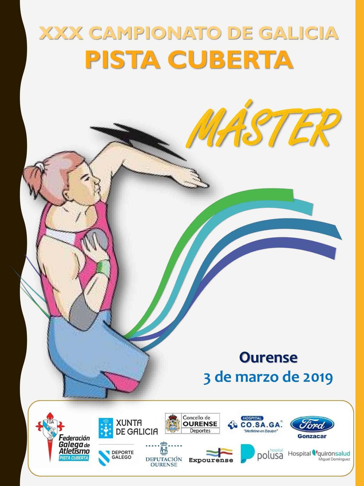 XXX Campionato de Galicia Máster en Pista Cuberta