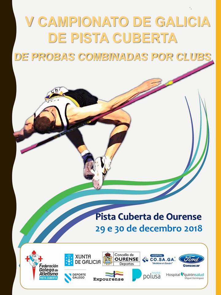 V Campionato de Galicia de Clubs Probas Combinadas en Pista Cuberta