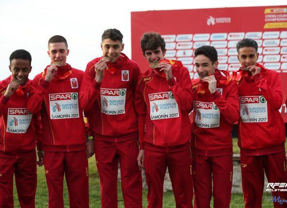 Catro galegos e galegas no Campionato de Europa de Campo a Través