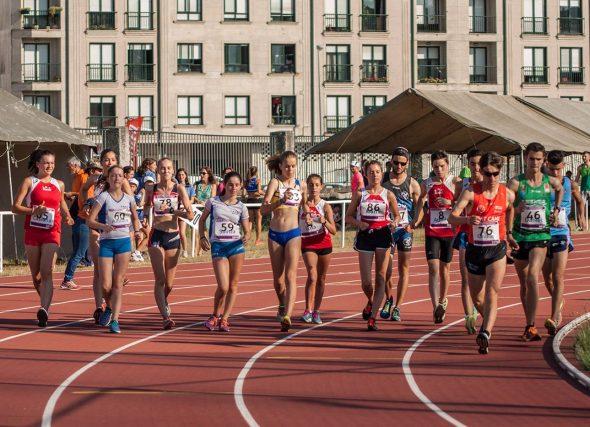 Xornada de competición formativa de Marcha atlética