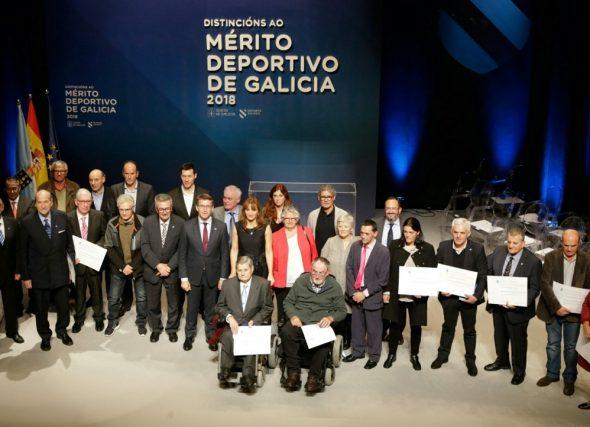 Catro atletas nas Distincións ó Mérito Deportivo 2018