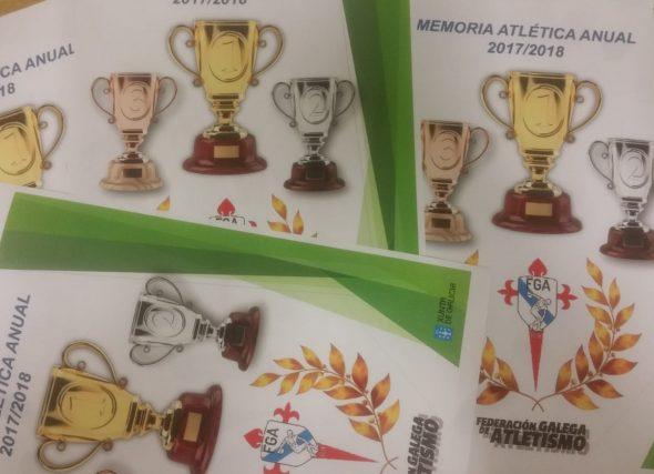 """Publicada a """"Memoria Atlética Anual 2017/2018"""""""
