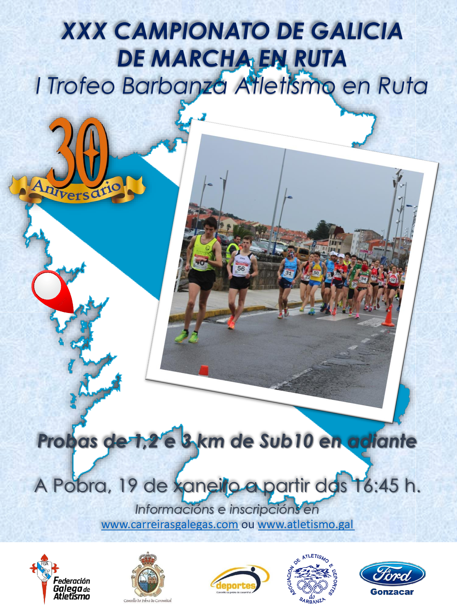 I Trofeo Barbanza de Atletismo en Ruta