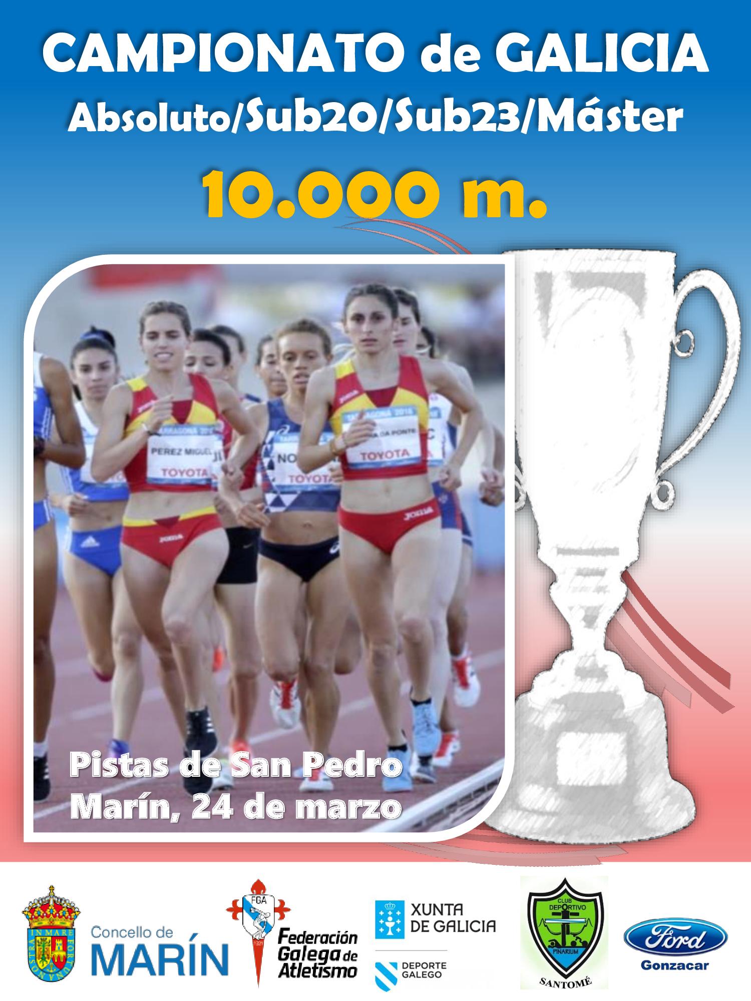 Campionato de Galicia de 10.000 m. 2018/2019