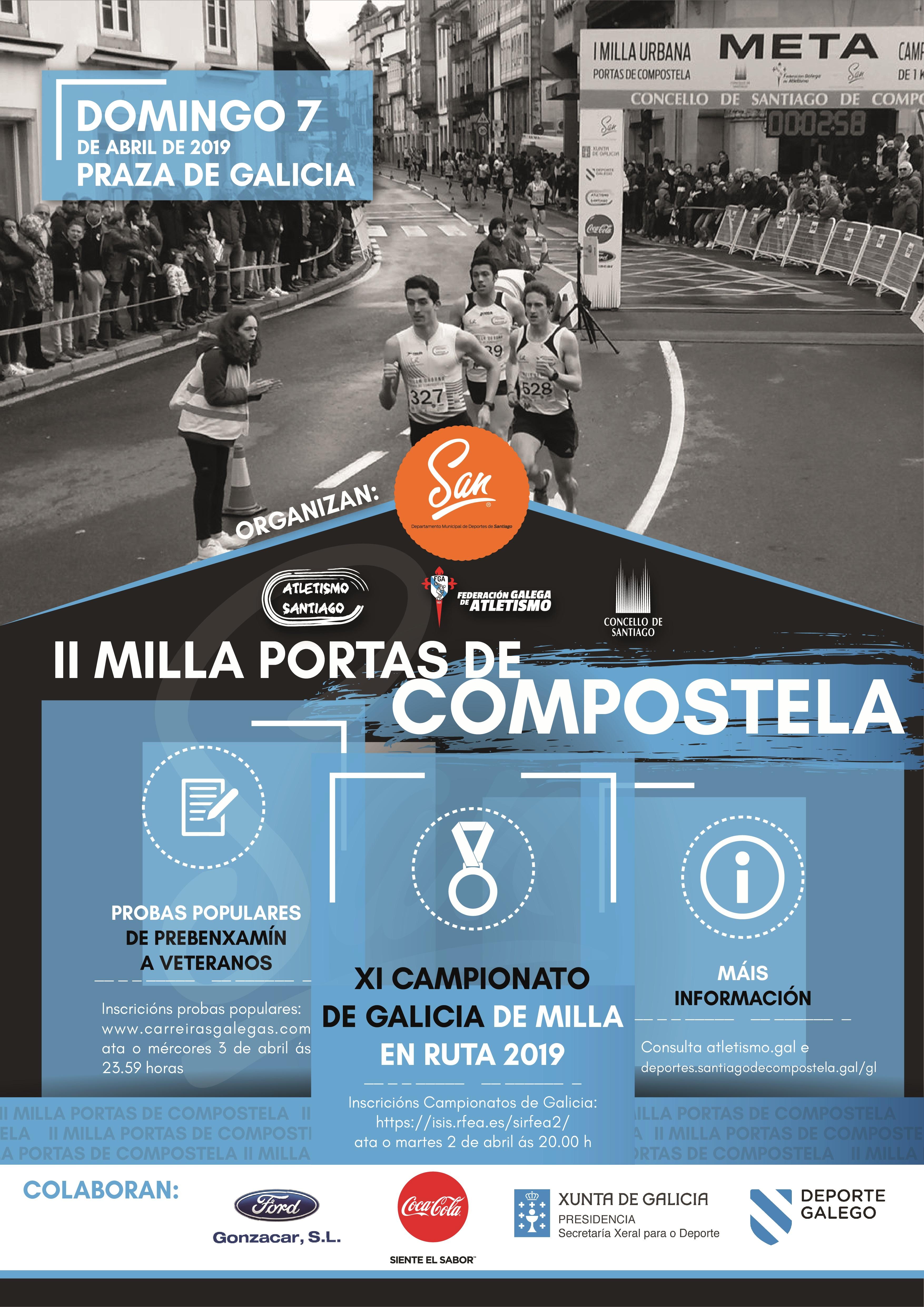 XI Campionato de Galicia de Milla en Ruta  2019
