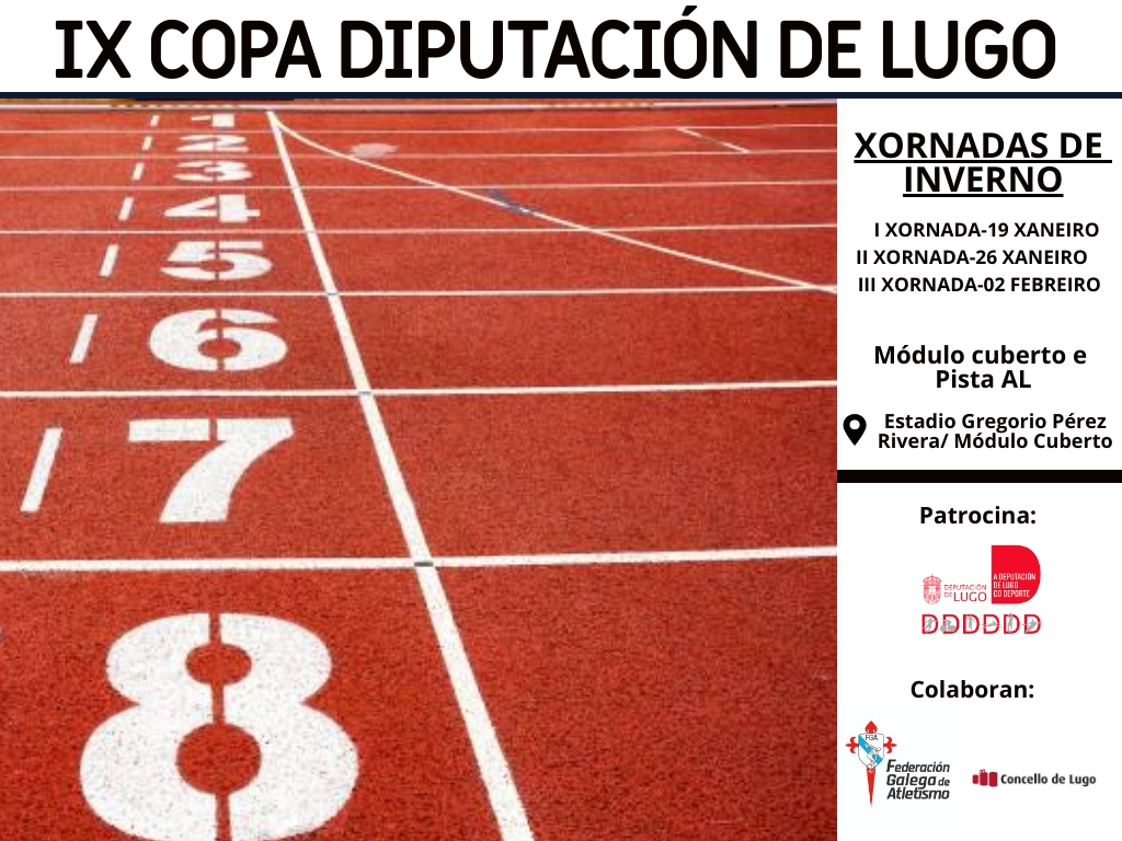 IX Copa Deputación Lugo – 1ª Xornada