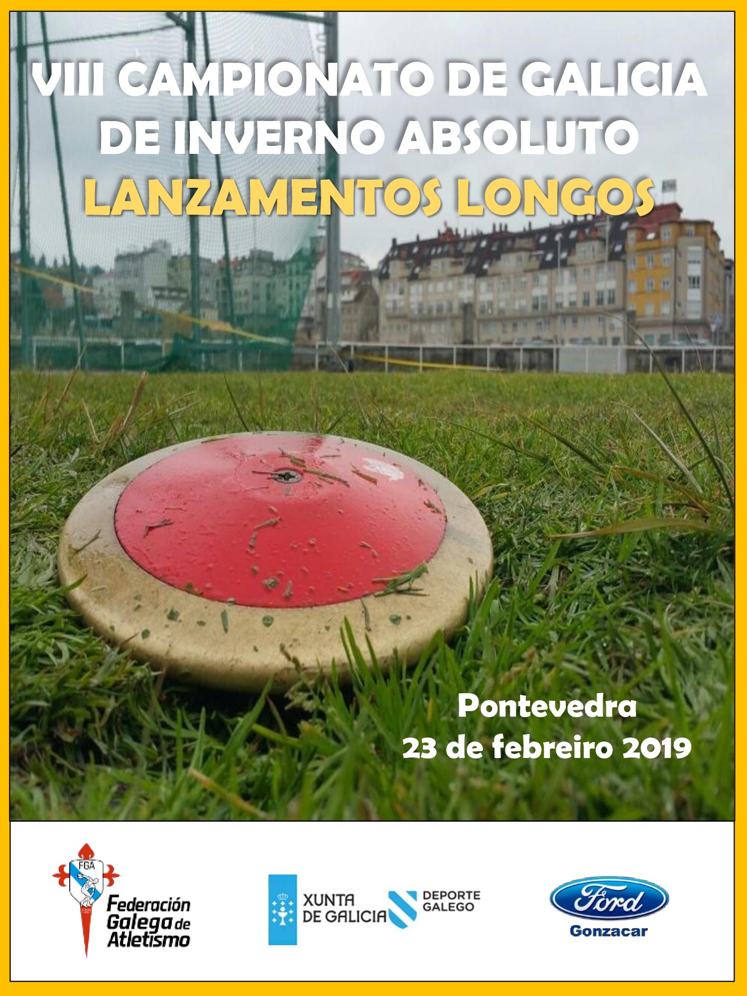 VIII Campionato de Galicia de Inverno Absoluto de Lanzamentos Longos