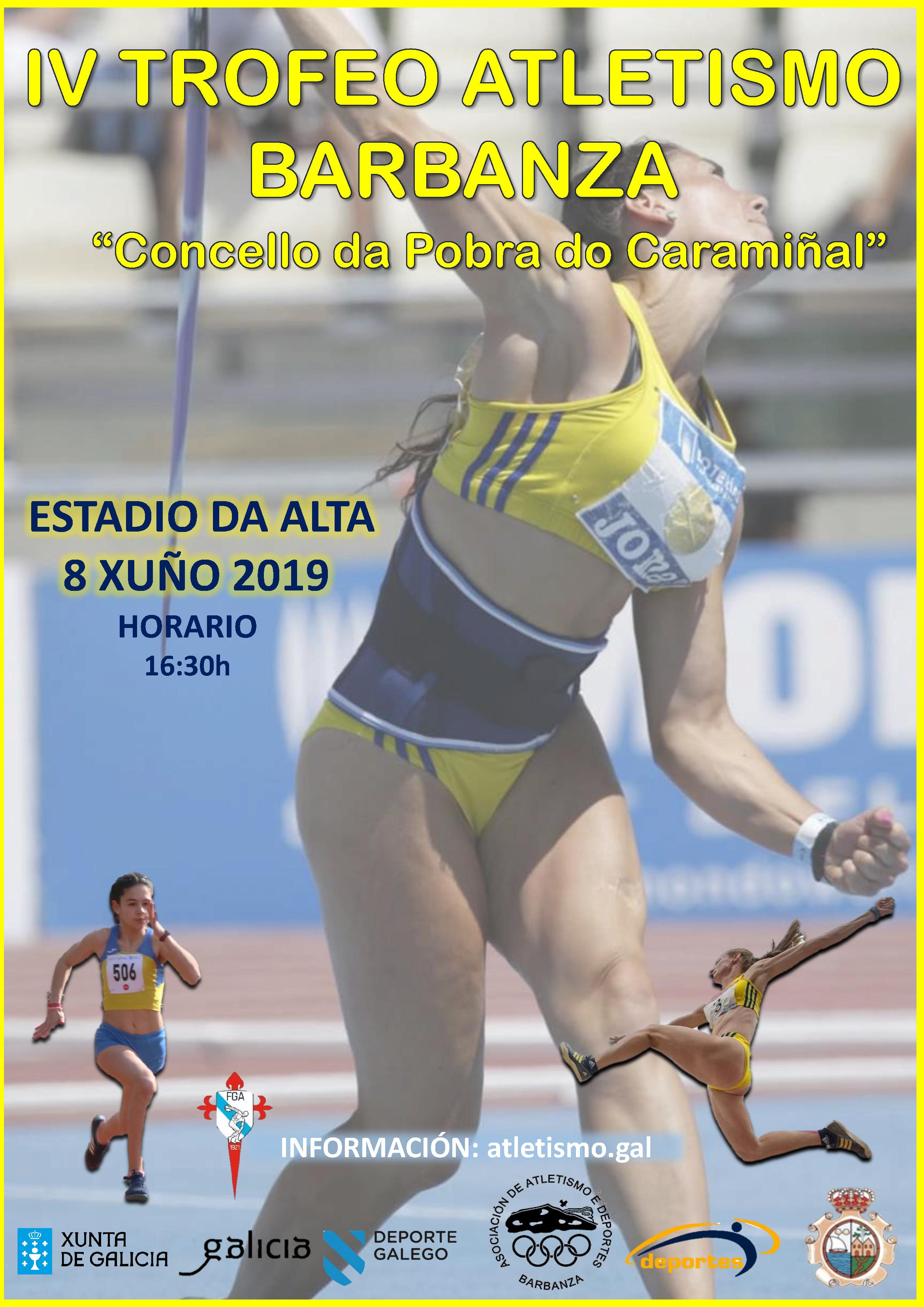 IV Trofeo de Atletismo Barbanza – Concello de A Pobra do Caramiñal