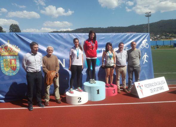 González e Hurtado acadan o autonómico dos 10.000 m.