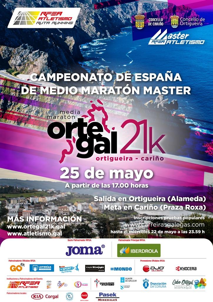 Campionato de España de Medio Maratón Máster 2018/2019