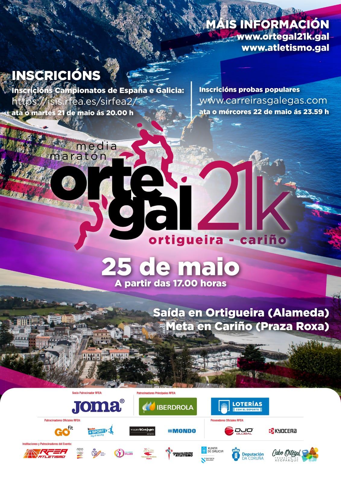 XXIX Campionato de Galicia de Medio Maratón
